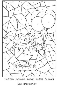 Free Printable Numbers Coloring Pages Unique Free Printable Jester Colour by Numbers Activity for Kids Space Coloring Pages, Fall Coloring Pages, Free Coloring, Coloring Pages For Kids, Coloring Books, Kids Colouring, Alphabet Coloring, Circus Activities, Circus Crafts