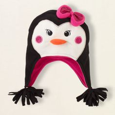 fleece penguin hat- the childrens place-- can it get any cuter?!?!?!