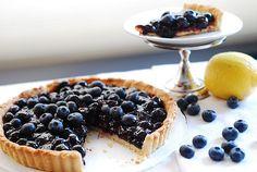 Blueberry Tart by JuliasAlbum.com, via Flickr