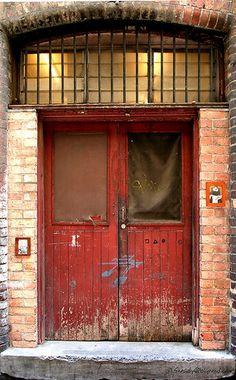 red door, Melbourne, Australia