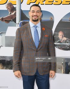Roman Reings, Wwe Roman Reigns, Wwe Wallpapers, Suit Jacket, Stock Photos, Blazer, Jackets, Pictures, Roman Reigns