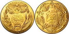 Turkey/Republic AV 50 Piastres 1927 Istanbul Mint