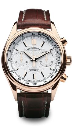 M02 Chronograph swiss watch - by Armand Nicolet