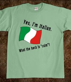 Italian Calm Black L