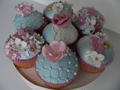 High Tea Cupcakes - by BEEautiful Cakes @ CakesDecor.com - cake ...