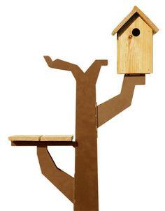 Vogelboomhut by Maandag meubels