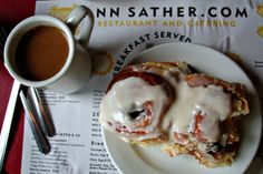 Ann Sather...best cinnamon rolls ever!