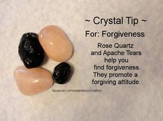 ✯ Crystal Tip: For Forgiveness ✯