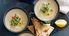 Spiced cauliflower soup: This hearty vegetarian soup with you leave you feeling warm from the inside out. Kale Recipes, New Recipes, Soup Recipes, Healthy Recipes, Special Recipes, Vegetable Recipes, Yummy Recipes, Recipies, Favorite Recipes