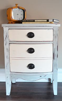 How to get this look & finish with chalk paint