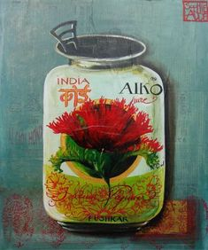 Sophie Adde - Peintures Fleurs