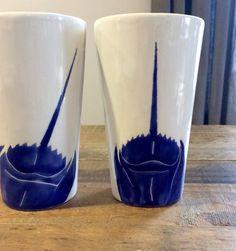 Horseshoe crab mugs