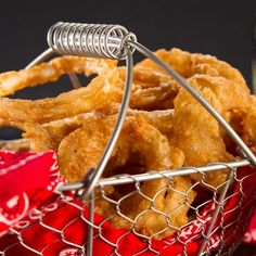 Onion Rings on Pinterest   Onion rings, Beer battered onion rings ...