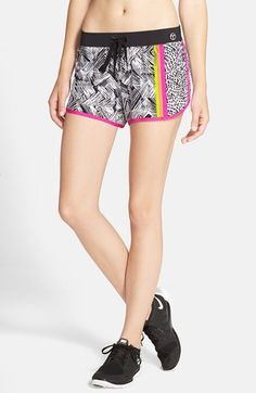 Free shipping and returns on Trina Turk 'Harbour Island' Mix Print Shorts at Nordstrom.com. A vibrant medley of prints energizes these supersoft, four-way stretch shorts ideal for running, yoga, or simply looking stylish while taking care of errands.