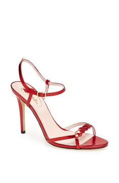 """The Brigitte in red was in the window of Nordstrom in downtown Seattle, it was such a cute display!""  – SJP 