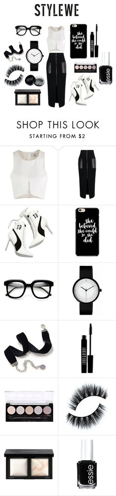 """""""Chicanova"""" by mrudula-26 on Polyvore featuring Puma, ZeroUV, Sweet Romance, Lord & Berry, L.A. Colors, Bare Escentuals, Essie and stylewe"""