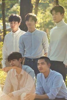 Xiumin, Suho, Sehun, Baekhyun & D.O - EXO | 2017