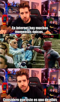 Quien ganaria si se enfrentaran Memes Marvel, Avengers Memes, Marvel Funny, Marvel Dc Comics, Spideypool, Marvel Universe, Deadpool, Mundo Marvel, Spanish Memes