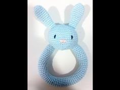 Tutorial Sonajero conejito de Crochet - YouTube