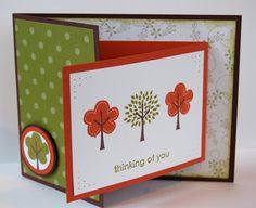 Stampin' Up! UK Independent Demonstrator - Julie Kettlewell: Last card from class