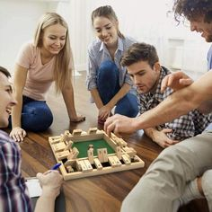 Family Fun Games, Family Game Night, Family Activities, Tools For Teaching, Learning Tools, Wooden Board Games, Wooden Dice, Game Item, Drinking Games