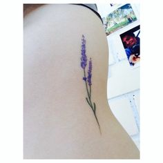 Lavender. - Little Tattoos for Men and Women