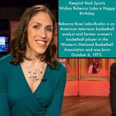 I'm Just Keepinit Real | Keepinit Real Sports keepinitrealsports.com Happy Birthday Rebecca, Sports Birthday, Basketball Players, Birthdays, American, Women, Anniversaries, Birthday, Woman