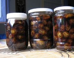 Pickles, Cucumber, Sausage, Mason Jars, Deserts, Cooking Recipes, Meat, Syrup, Canning