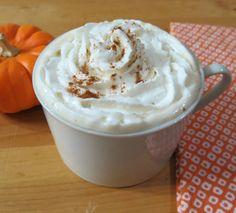 Skinny Pumpkin Spice Latte - A creamy, low calorie pumpkin flavor coffee drink.
