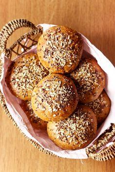 Bakers Gonna Bake, Bread Bun, Polish Recipes, Bread Baking, Hamburger, Food And Drink, Yummy Food, Healthy Recipes, Cookies