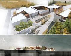 http://arch-student.com/ Eptagonia Agricultural Heritage Museum by antonis tzortzis, via Behance