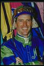 Russell Baze (1958-) is the winningest jockey of all time in North America; in a career lasting from 1974 to the present, he has amassed a truly staggering 60,685 mounts, 12,033 wins for a winning percentage of 23%. He was the U.S. Champion Jockey in wins in 1992-1996, 2000, 2002, 2005 and 2007-2008; the winner of the Eclipse Special Award in 1995 and the 2002 George Woolf Memorial Jockey Award. He rode the best horses of the day,Russell Baze was inducted into the Hall of Fame in 1999.