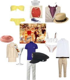 """Gilligan's Island"" by cassandra-cafone-wright on Polyvore"
