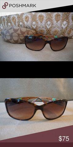 Coach sunglasses Tortoise colored coach sunglasses Coach Accessories Sunglasses
