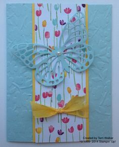 Butterflies Thinlits - the perfect new partner for your Big Shot to make gorgeous cards!