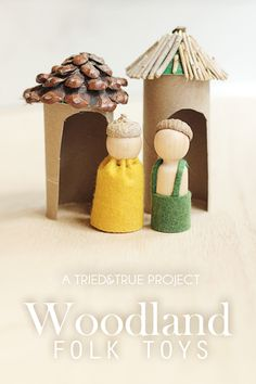 Woodland Folk Toys for Thanksgiving