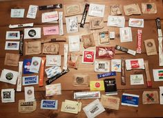 Sugar packet collection :)