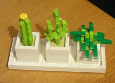 LEGO Ideas - Desktop Cactus Planters