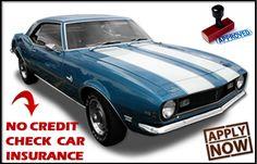 Car Insurance Comparison No Credit Check