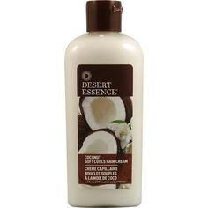 Desert Essence Coconut Soft Curls Hair Cream (1x6.4 Oz)