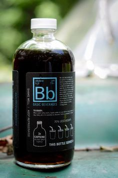 cold brew coffee | cold brew coffee bottle upclose the back panel of our cold brew coffee ...