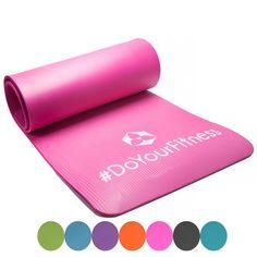 #DoYourFitness Fitnessmatte Yogini ideal für Pilates Gymnastik und Yoga Maße: 183 x 61 x 1.0 cm pink, 122566223: Amazon.de:…
