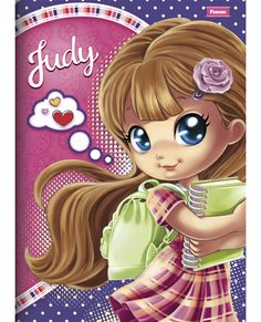 Caderno Judy Brochura (Capa em Cartão)