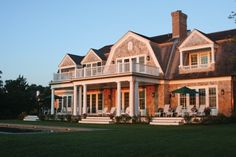 New England Style in the Hamptons. Perfection!!