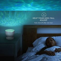Sea Reflection™ - Ocean Wave Night Light Projector – Sick Stuff