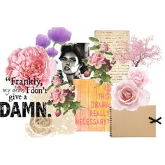 Drama Free, created by jamoise on Polyvore