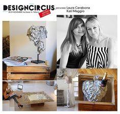 Laura Cerabona e Kati Maggio, alias KaLamita, sono rispettivamente una designer e un'artista. Insieme realizzano complementi d'arredo che sono vere opere d'arte, e che fanno viaggiare la mente e il cuore oltre il tempo e lo spazio. Le trovate a DesignCircus, il 28 e il 29 novembre in via Dante 14.