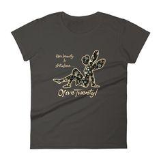 """""""Her Beauty is Art Alone"""" Women's T-shirt"""