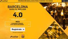 el forero jrvm y todos los bonos de deportes: betfair supercuota 4 Barcelona gana Malaga Liga 19...
