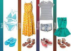 Clothes for Women to Pack for a Beach Vacation